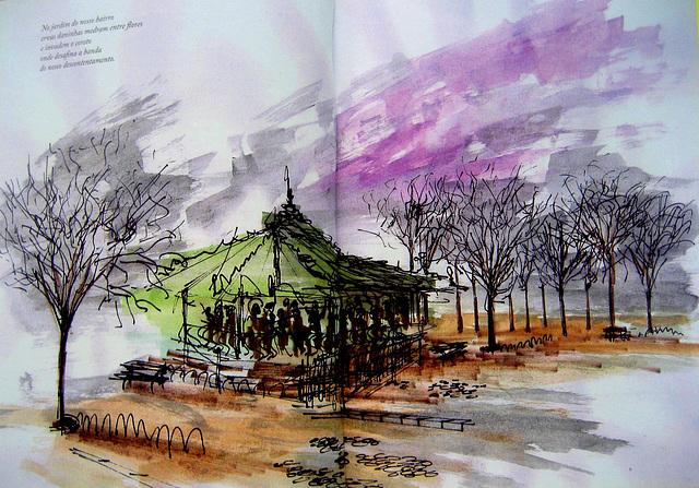 Bandstand (illustration)