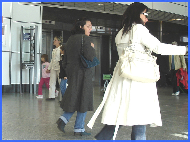 Duo Aero shopping - Aéroport PET de Montréal- 18 octobre 2008