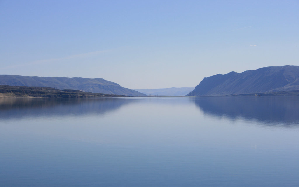 Wanapum Reservoir, Washington state, USA