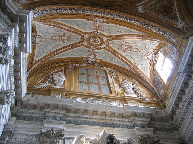 Plafond d'église