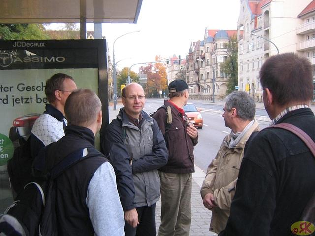 2008-10-19 02 Wandertruppe, Weissig - Heidenau