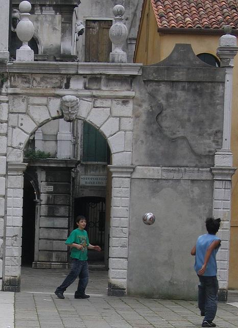 foot à Venise
