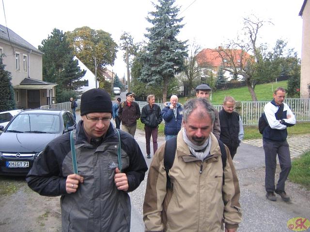2008-10-19 03 Wandertruppe, Weissig - Heidenau