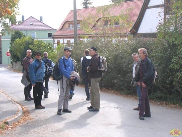 2008-10-19 46 Wandertruppe, Weissig - Heidenau