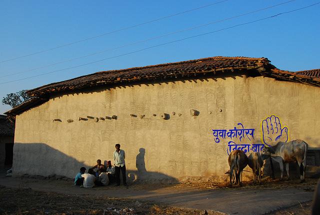 scène goyesque en Inde