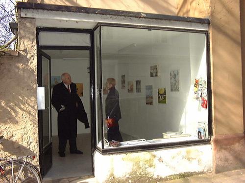 Ausstellungsraum de Ligt - Frankfurt  Sachsenhausen um 2002