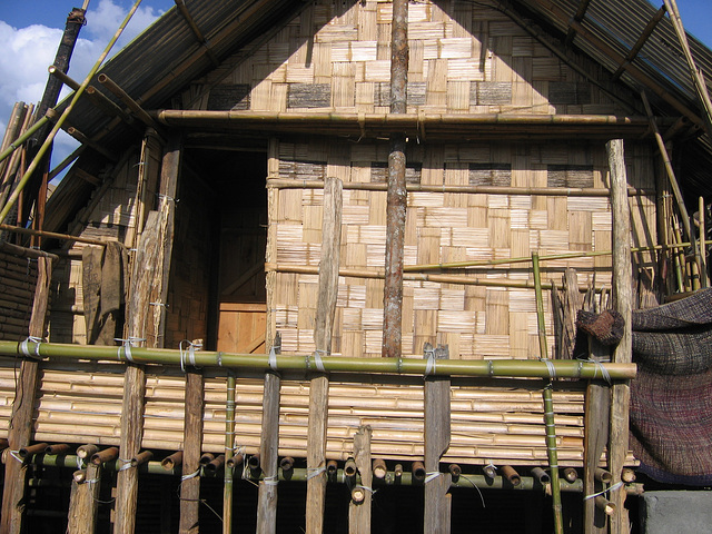long- house in Arunachal
