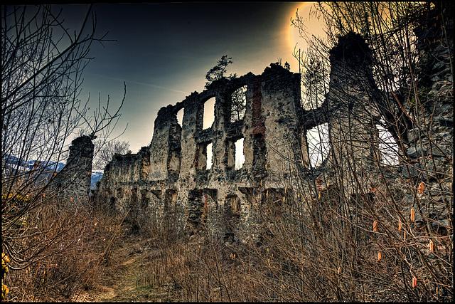 Castle Ruin Kaisersberg - 2