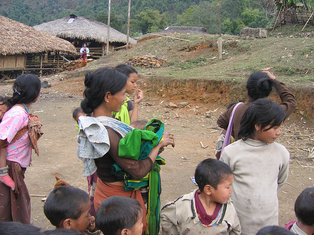 Nishi villagers