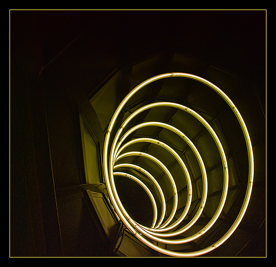 Strange Neon Circles