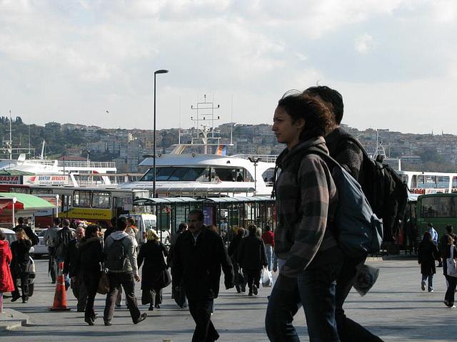 yacht harbour of Ortaköy
