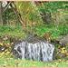 Chute d'eau miniature / Miniature waterfall - Båstad, Suède /Sweden.  1er novembre 2008.