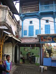 Un coin de rue à Nasik