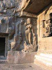 Ellora statue