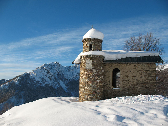 Garzirola chiesetta della Madonna del Cepp, Italie