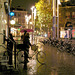 Vélo et parapluie à la Amsterdamienne......