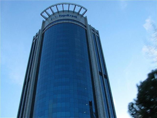 bank skyscraper