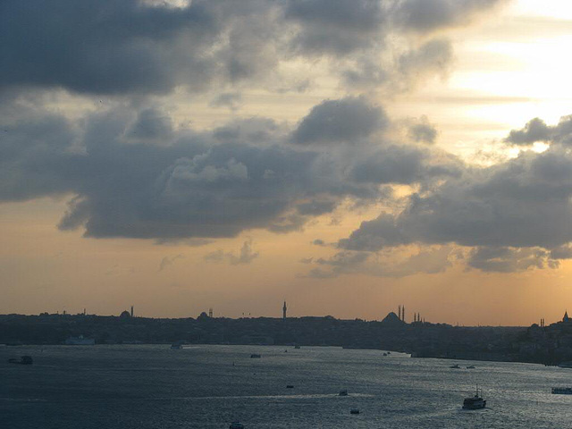 sun vs clouds over the Bosporus_2