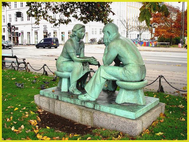 Conversation intime et amoureuse / Loving conversation