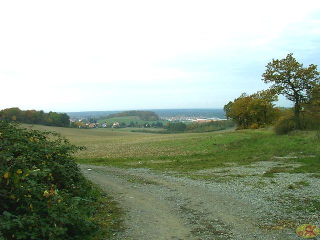 2008-10-19 07 Wandertruppe, Weissig - Heidenau