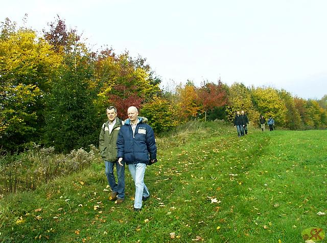2008-10-19 11 Wandertruppe, Weissig - Heidenau