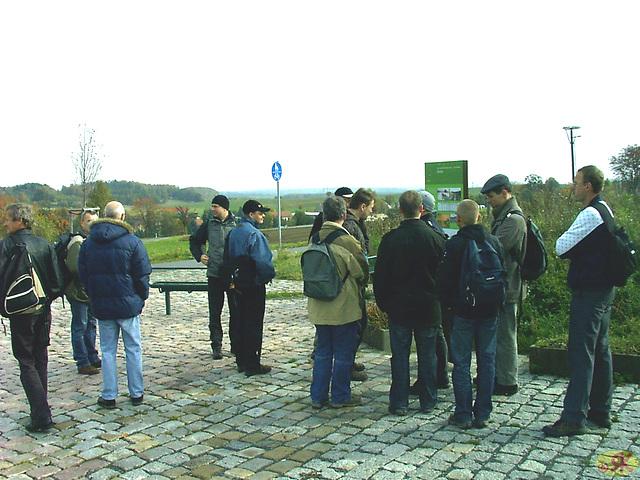 2008-10-19 16 Wandertruppe, Weissig - Heidenau