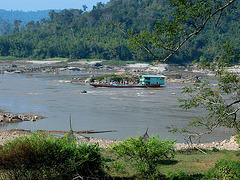 Mekong river near Chiang Khan