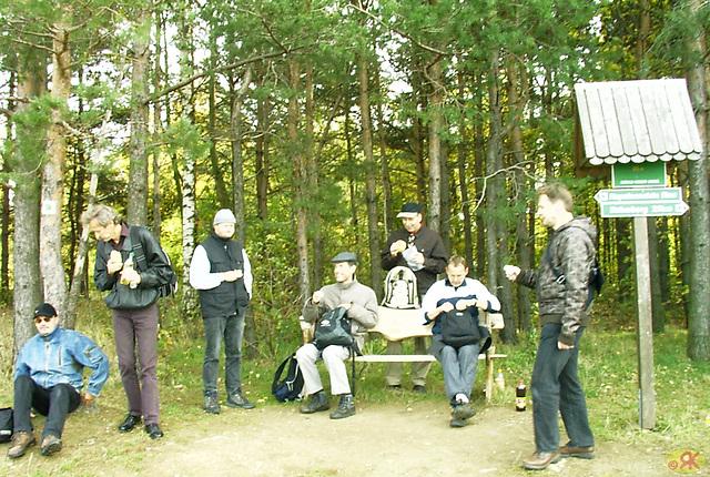 2008-10-19 21 Wandertruppe, Weissig - Heidenau