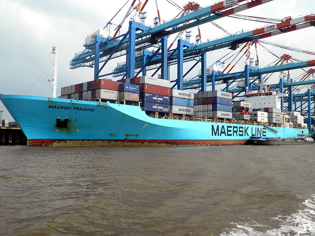 Containerschiff  Maersk Penang