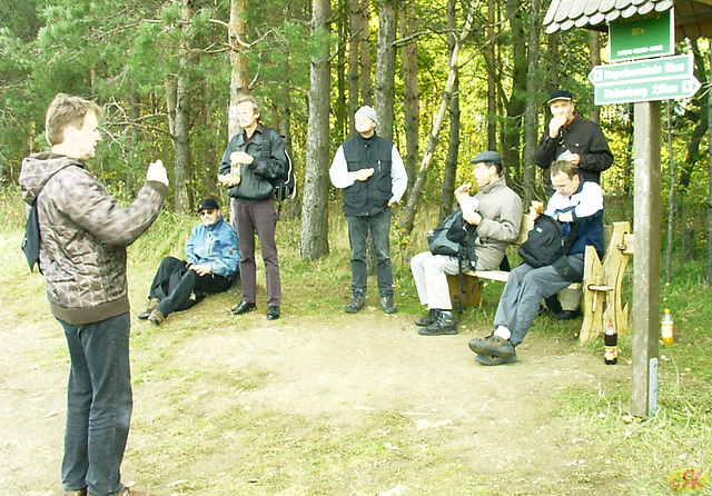 2008-10-19 23 Wandertruppe, Weissig - Heidenau