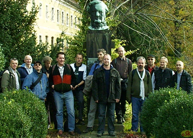 2008-10-19 39 Wandertruppe, Weissig - Heidenau