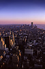 Evening over Manhattan