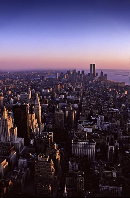 Evening over Manhattan