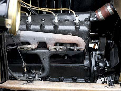 Ford-modelo T: motoro