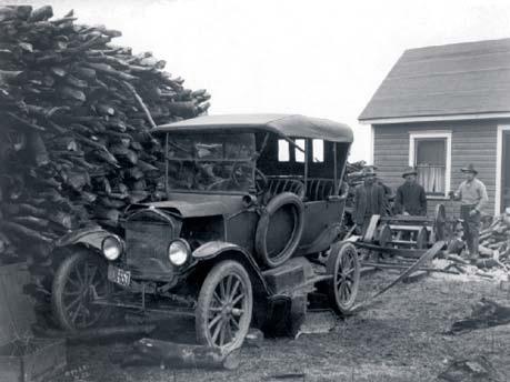 Ford-modelo T misuzata
