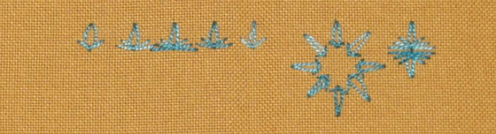 # 68 - Slipped Detached Chain stitch