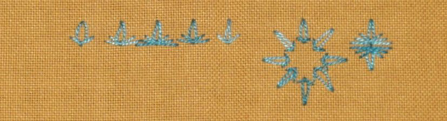 # 68 - Slipped Detached Chain stitch