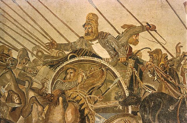 Darius III à la bataille d'Issos