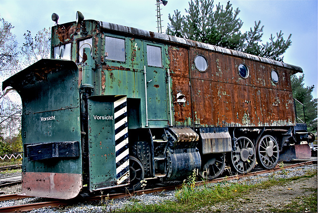 Snowplow Locomotive