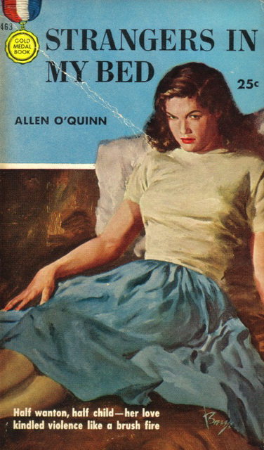 Allen O'Quinn - Strangers in My Bed (1st printing)
