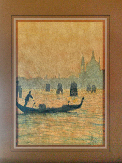 PICT3769b Italy Venice Grand Canal Gondola Painting Structure