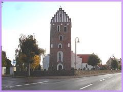 Église et cimetière de Båstad  / SWEDEN - 23 octobre 2008