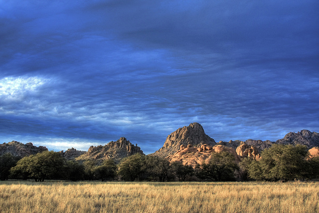 Campsite @ Cochise Stronghold