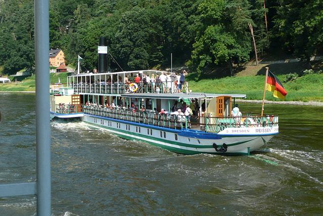 Die weiße Flotte - die älteste Raddampferflotte der Welt