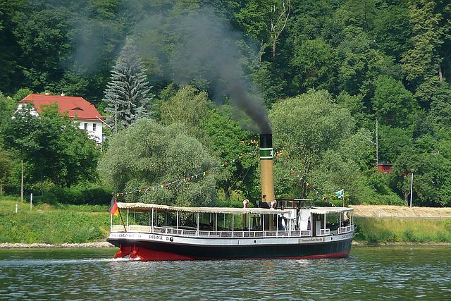 Die Sachsenwald - ein Privatschiff