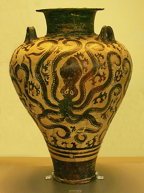 PICT17162bc Minoan Palace Style Amphora with Octopus 15th B.C