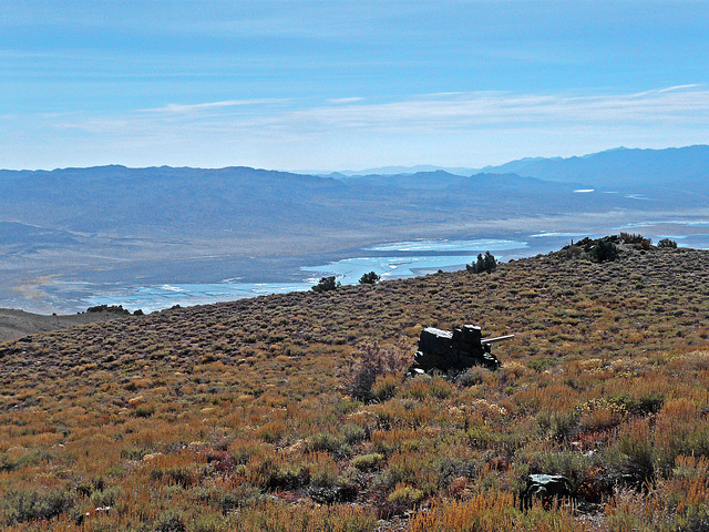 Burgess Mine View of Owens Valley (1795)
