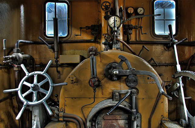 Locomotive Cockpit - 1