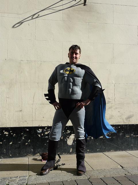 Batman is in Hastings