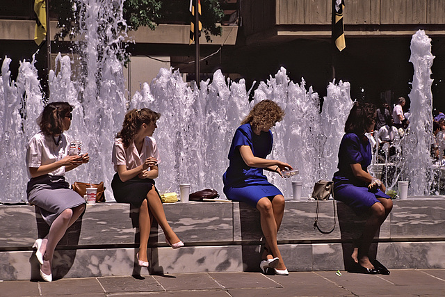 4 Ladies and their drink